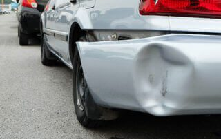 In an accident involving an unidentified driver and untraced driver