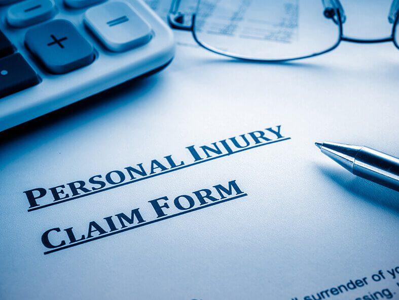 What are the steps involved in bringing a personal injury claim