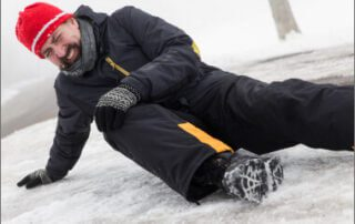 A fall on snow or ice – who is responsible