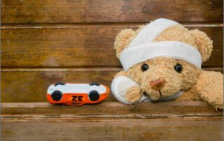 My child was injured in a road traffic accident– what do I do