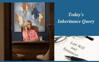 Todays Inheritance Query